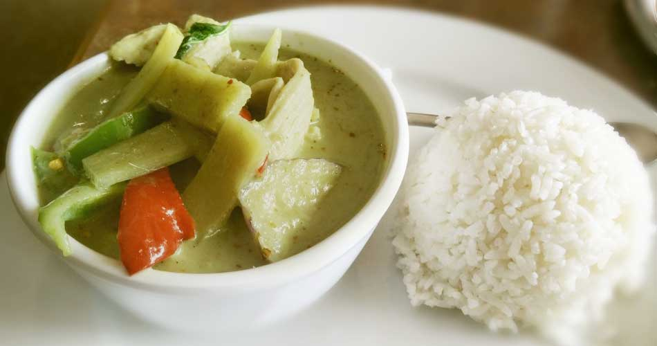 Lunch - Green Curry
